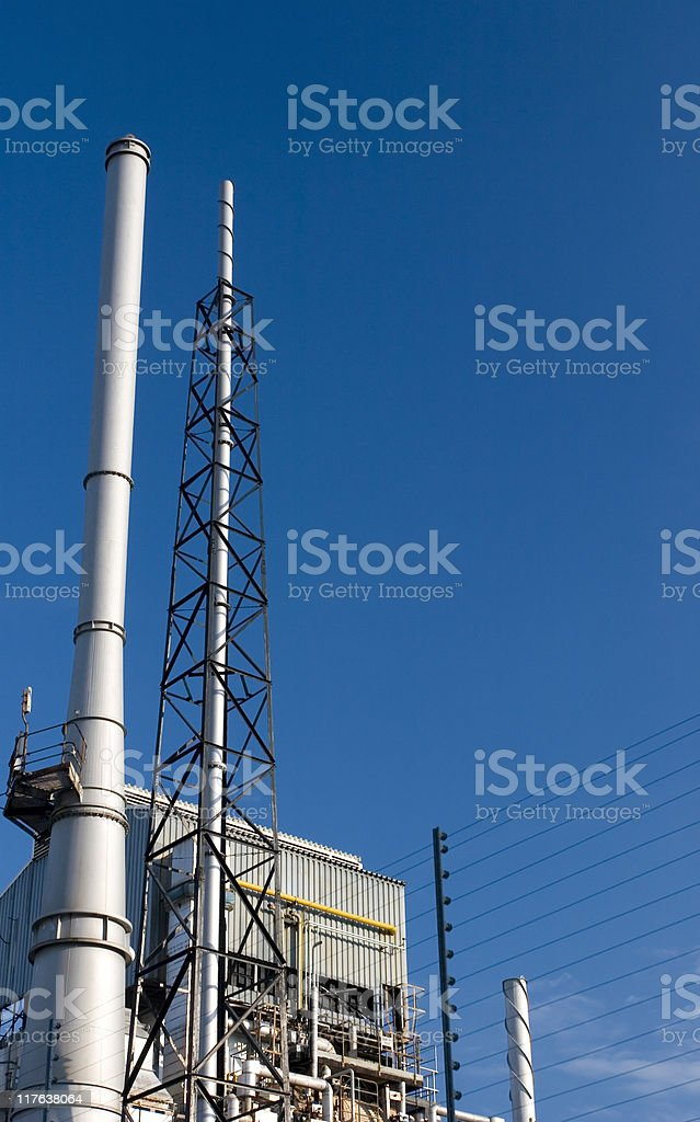Industrial plant royalty-free stock photo
