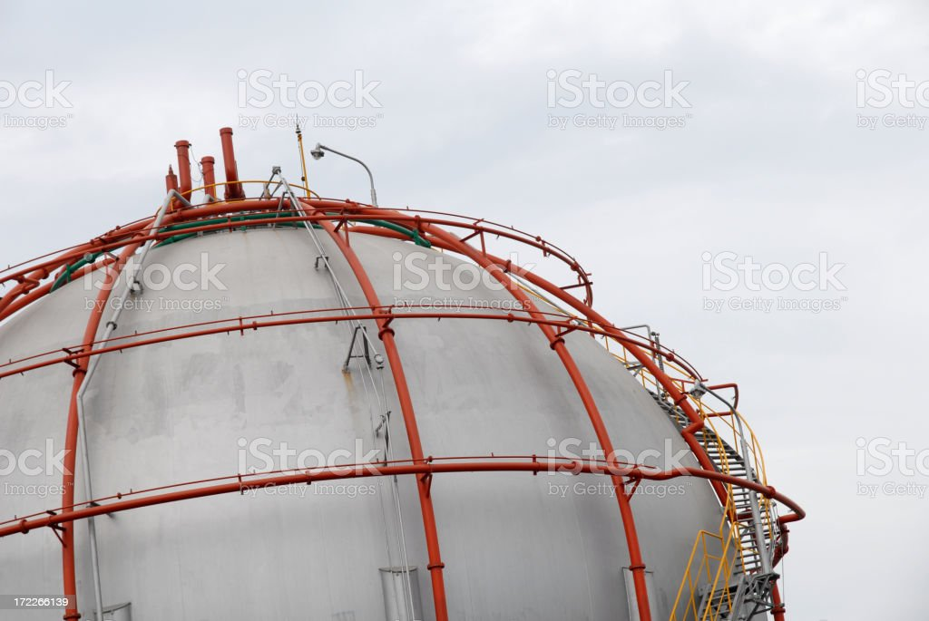 Industrial Pressure Vessel stock photo