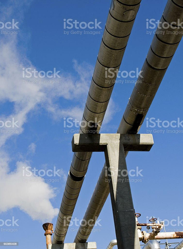 Industrial Refinery royalty-free stock photo