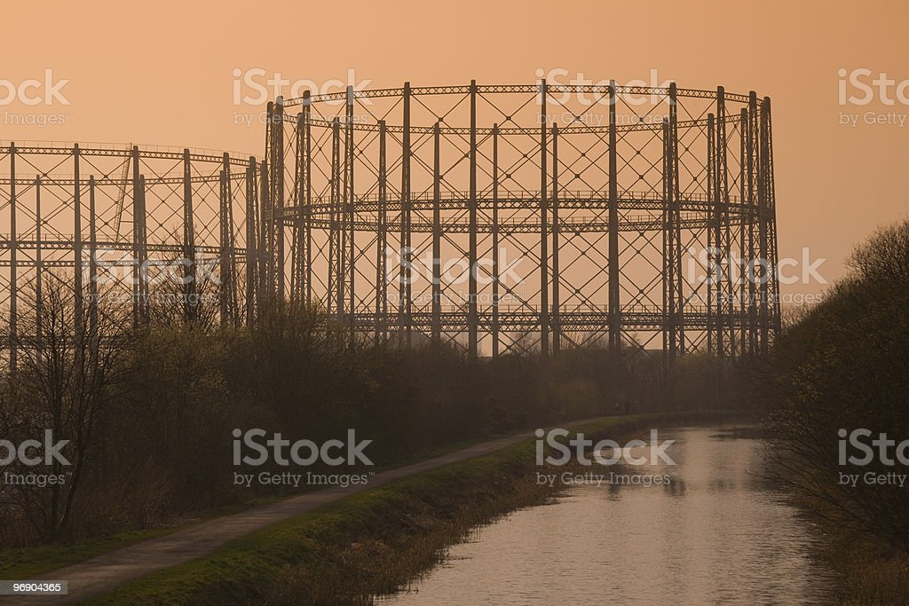 industrial relics royalty-free stock photo