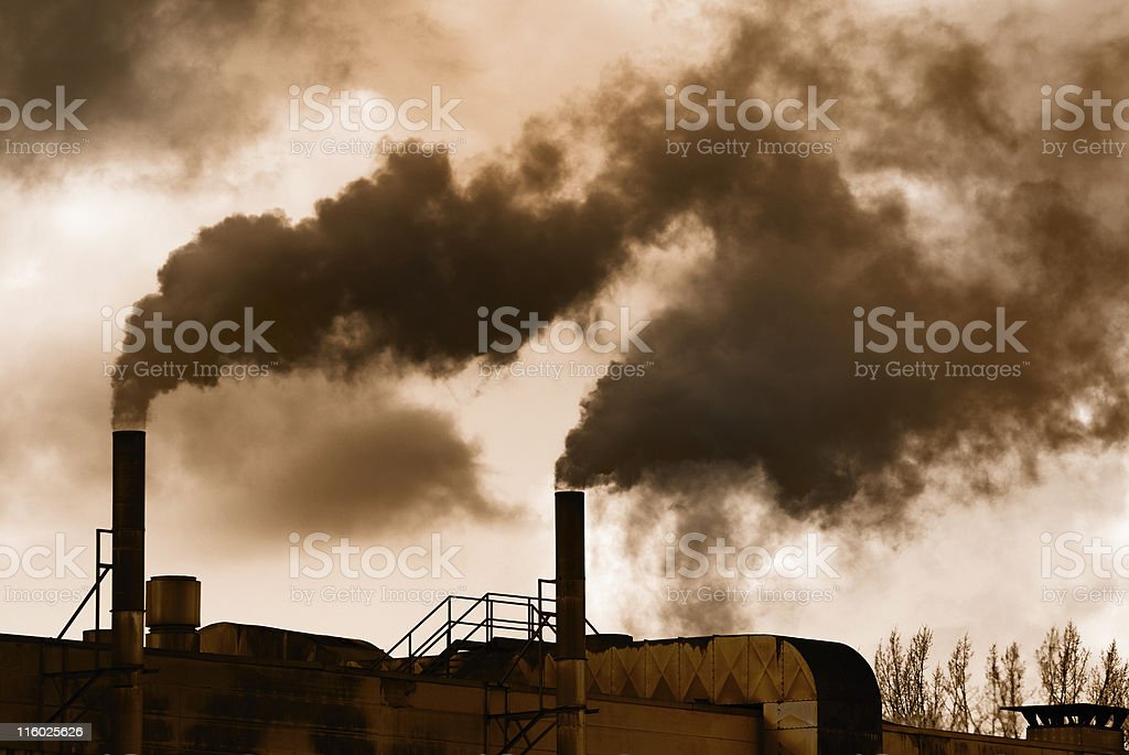 Industrial Revolution stock photo