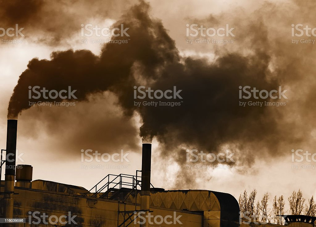 Industrial Revolution stock photo