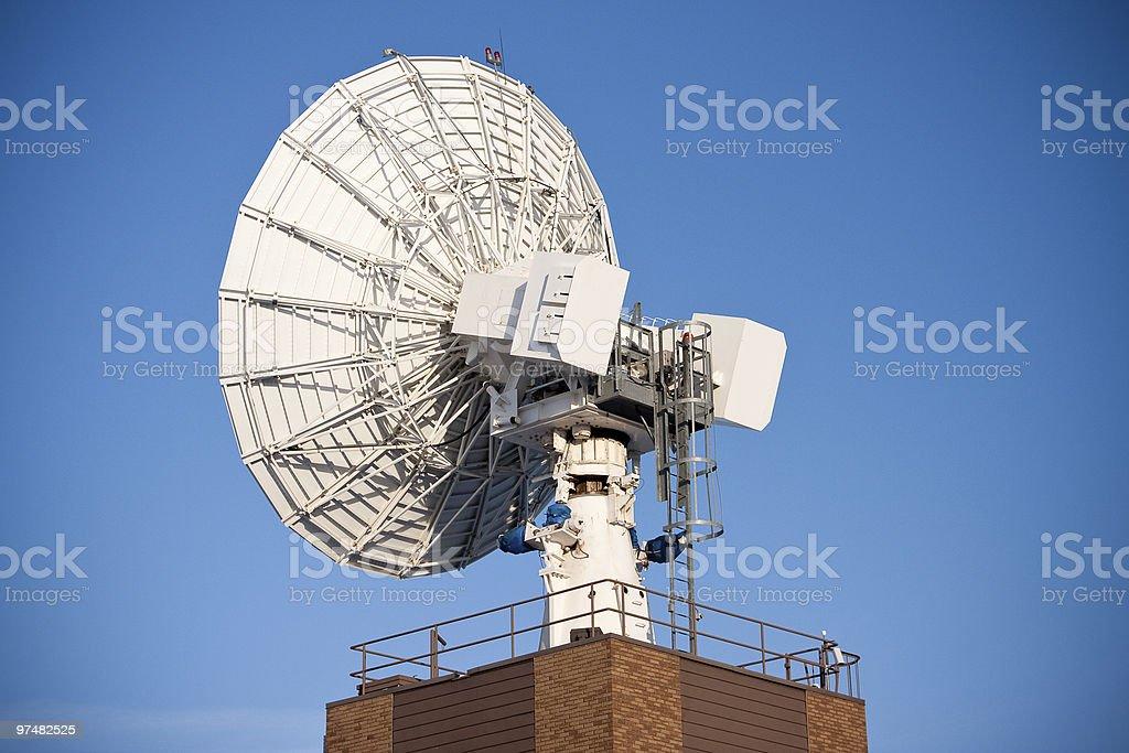 Industrial Satellite Dish royalty-free stock photo