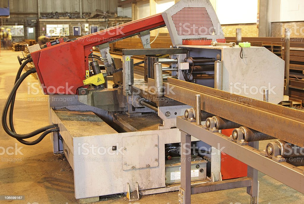 industrial saw stock photo