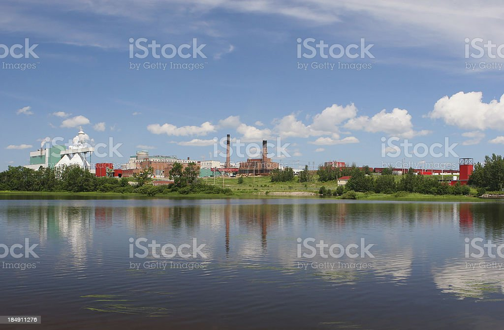 Industrial Site royalty-free stock photo