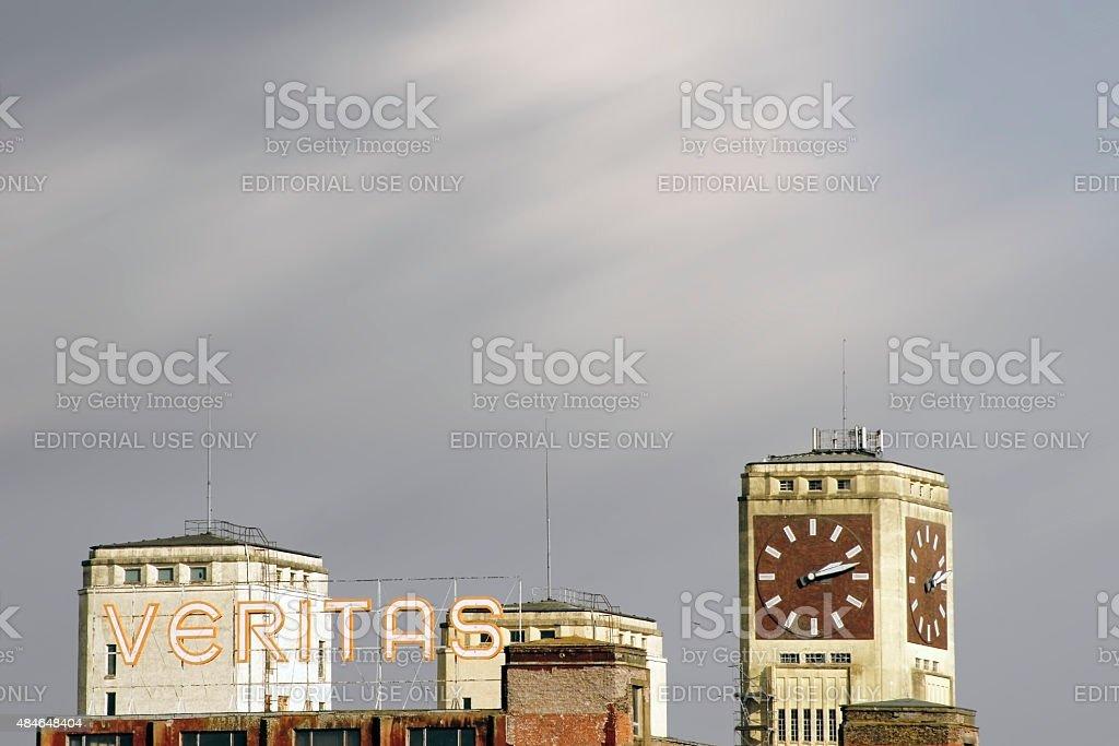 Industrial site Veritas Wittenberge stock photo