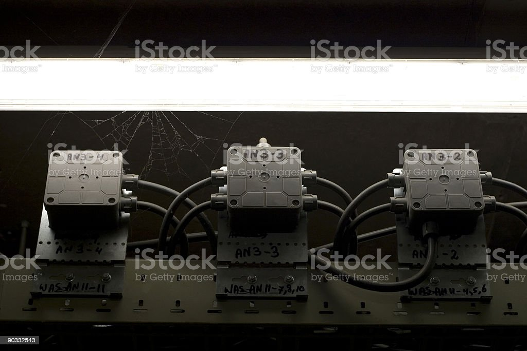 Industrial sparks royalty-free stock photo