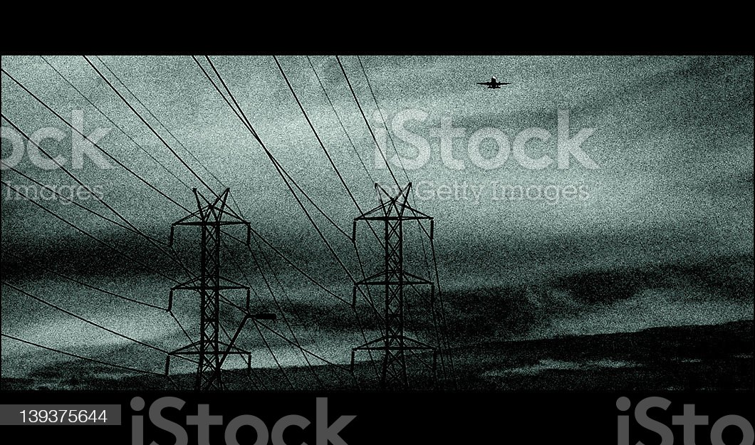 Industrial Static #1 royalty-free stock photo