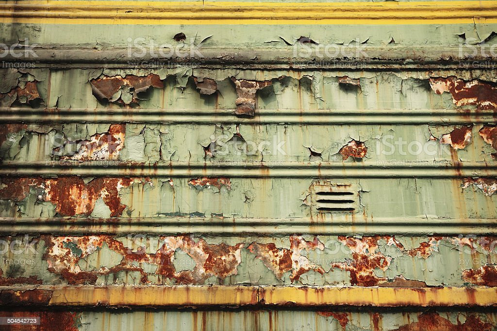 Industrial Steel Doors royalty-free stock photo