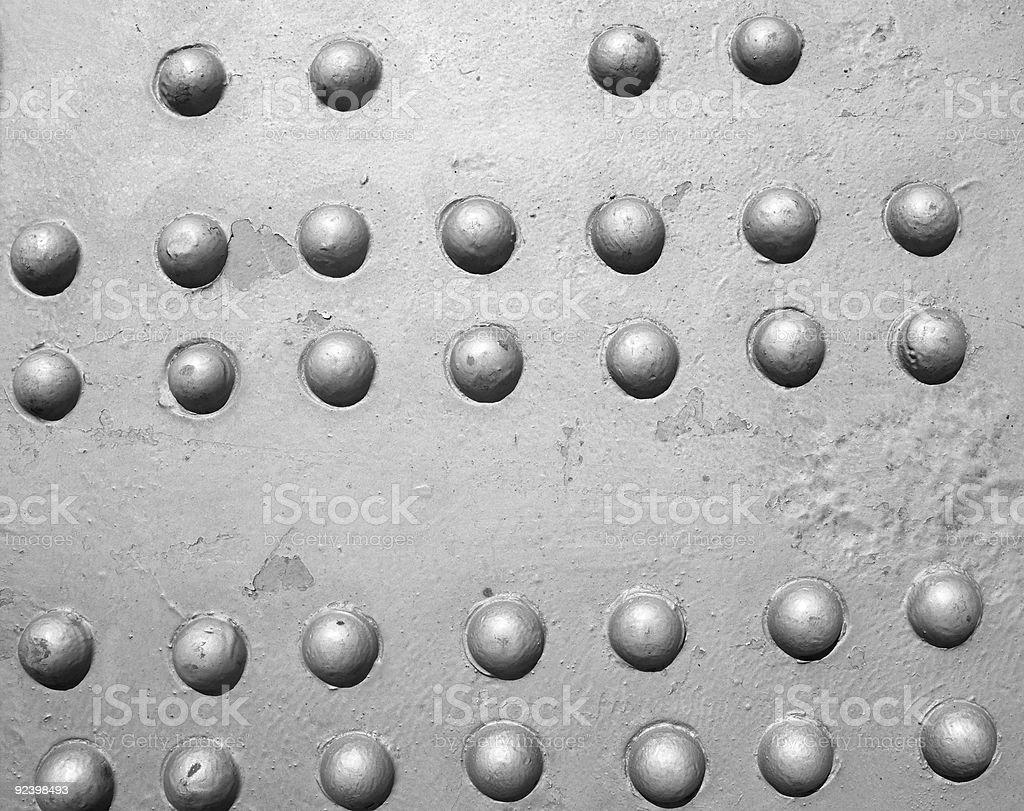Industrial steel plate royalty-free stock photo