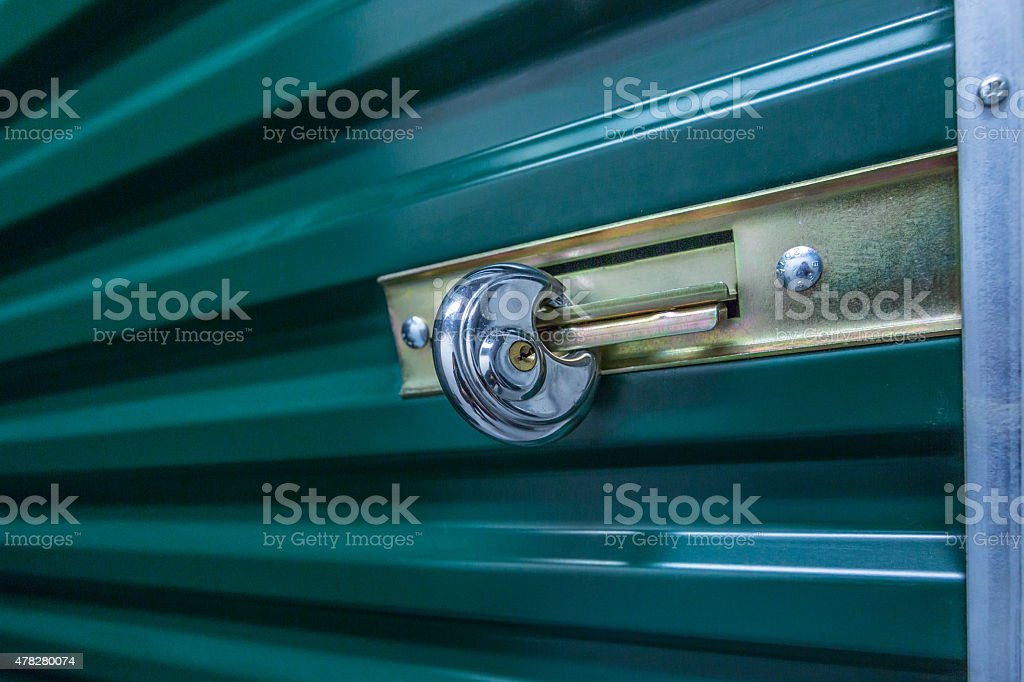 Industrial storage in the city. stock photo