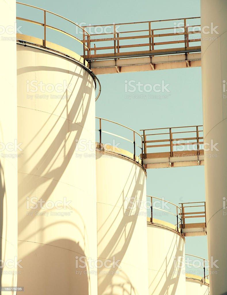 Industrial Storage Tank royalty-free stock photo