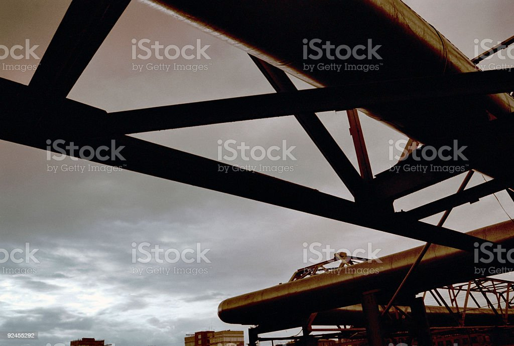 Industrial structure 3 royalty-free stock photo