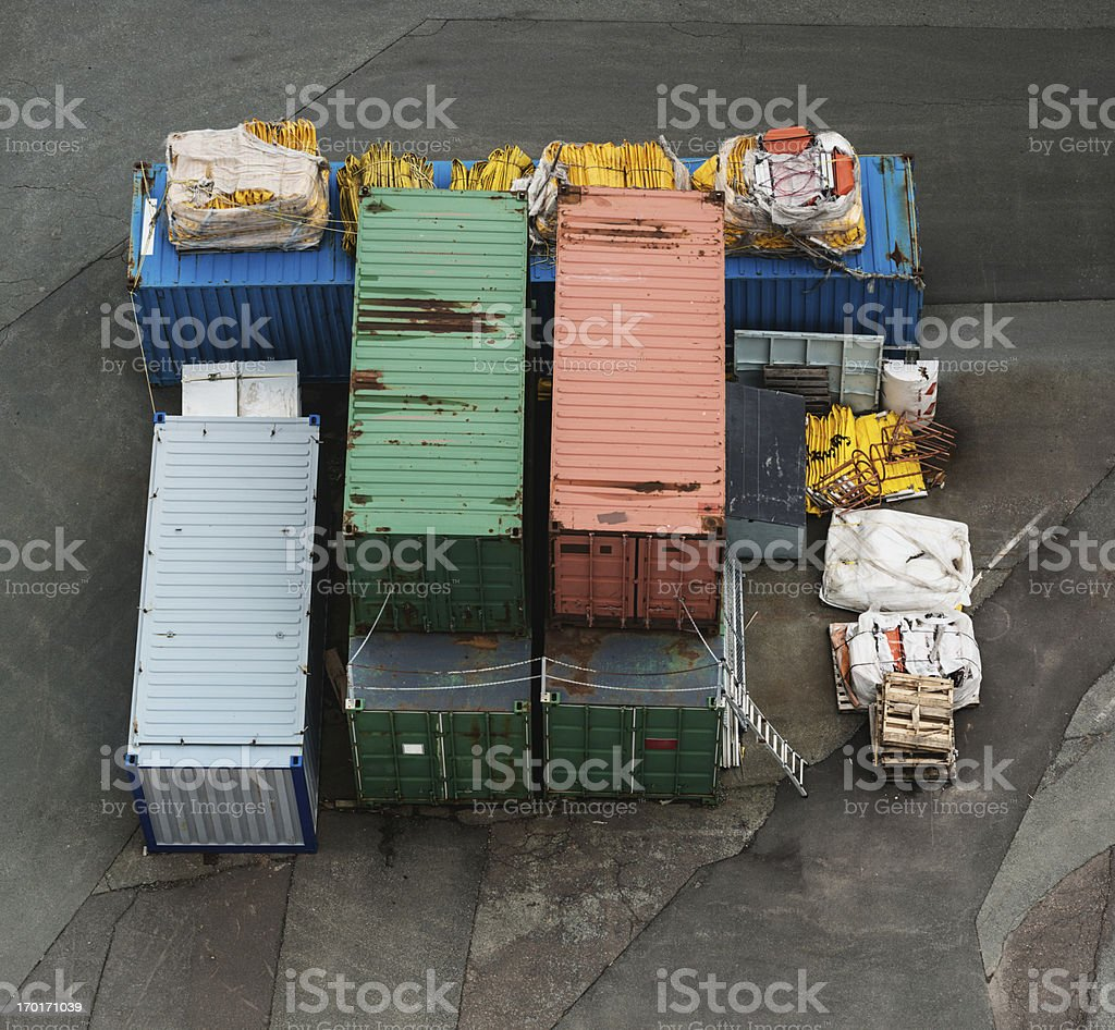 Industrial Supplies royalty-free stock photo
