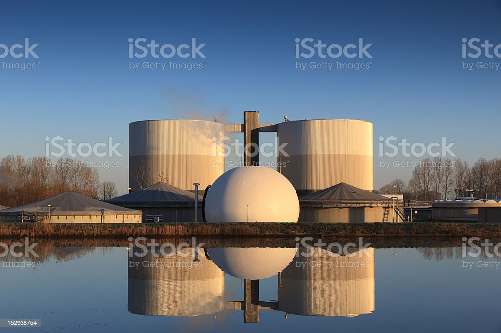 Industrial symmetry. royalty-free stock photo