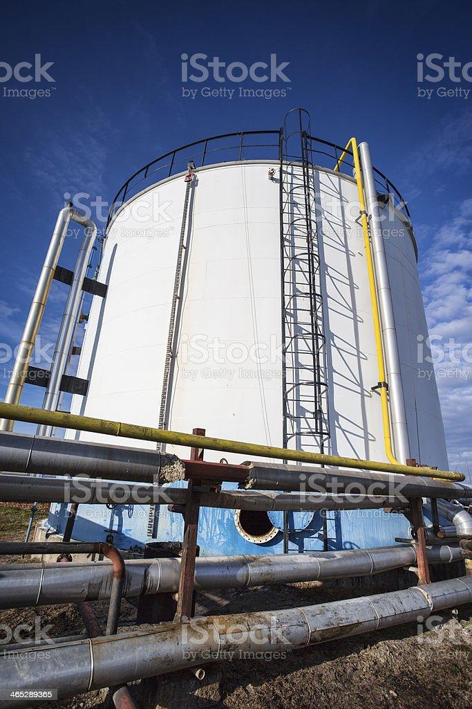 Industrial Tank stock photo