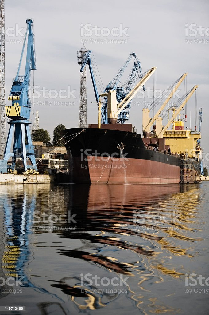 Industrial tanker royalty-free stock photo