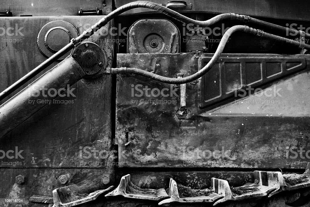 Industrial texture stock photo