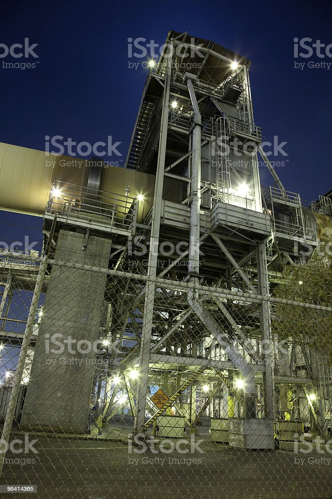 Industrial Tower stock photo