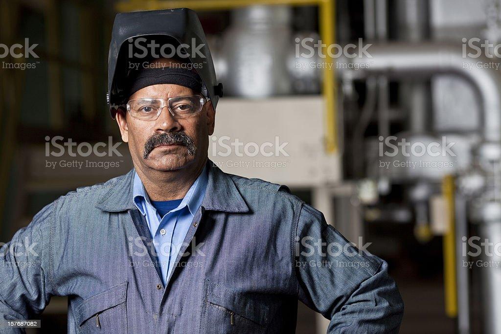 Industrial Tradesman stock photo