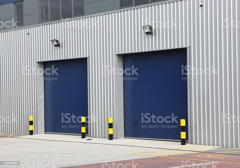 Industrial Unit stock photo