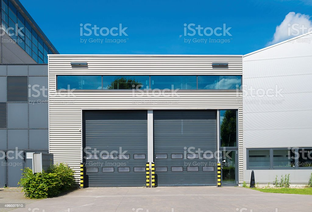 industrial unit stock photo