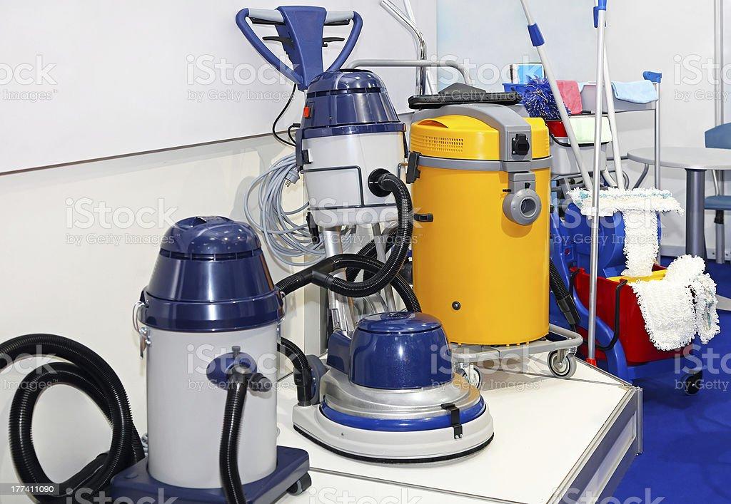 Industrial vacuum cleaner stock photo