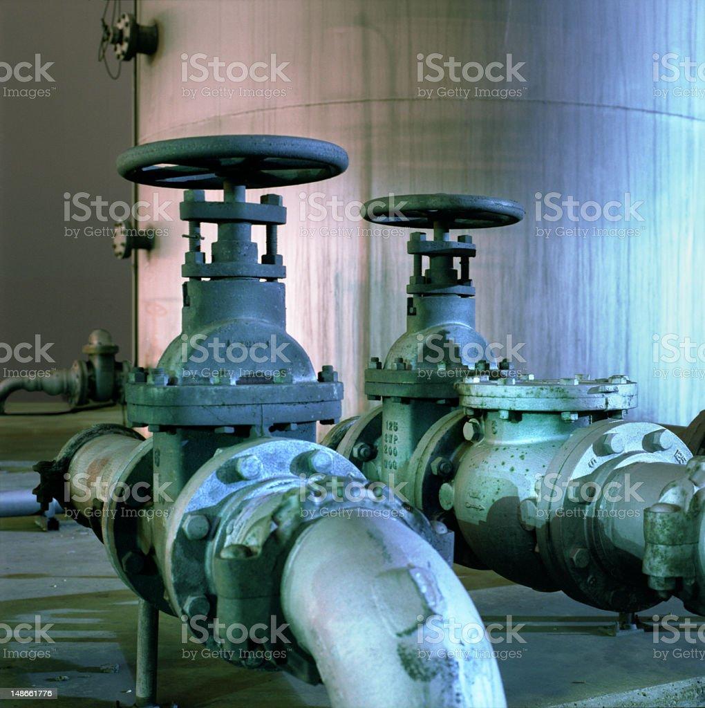 industrial valve royalty-free stock photo