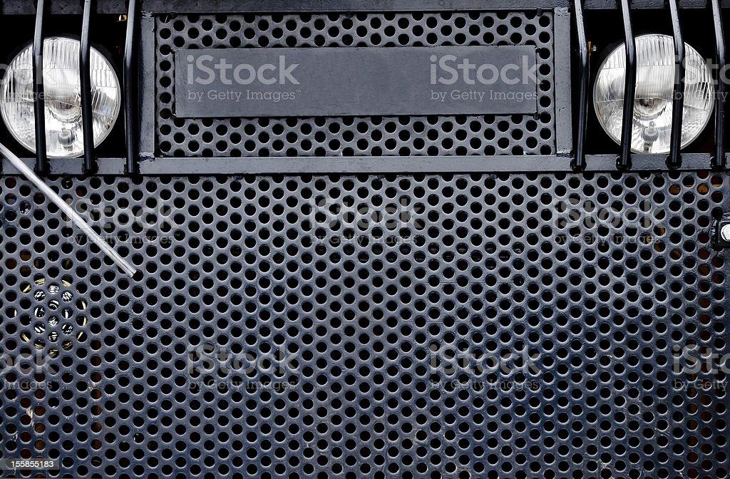 Industrial Fahrzeug grille Lizenzfreies stock-foto