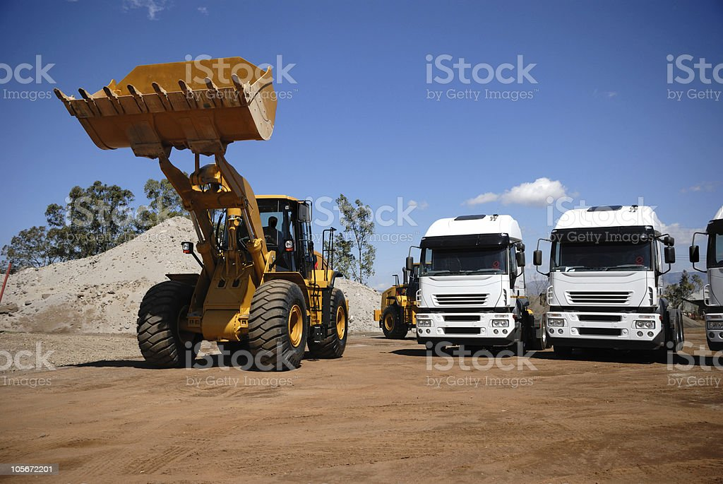 Industrial Vehicles royalty-free stock photo