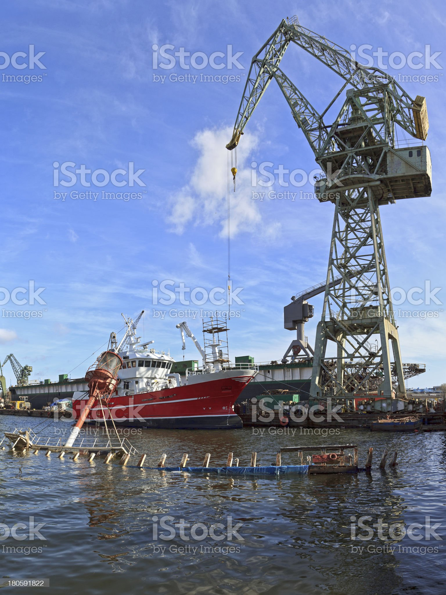 Industrial view royalty-free stock photo