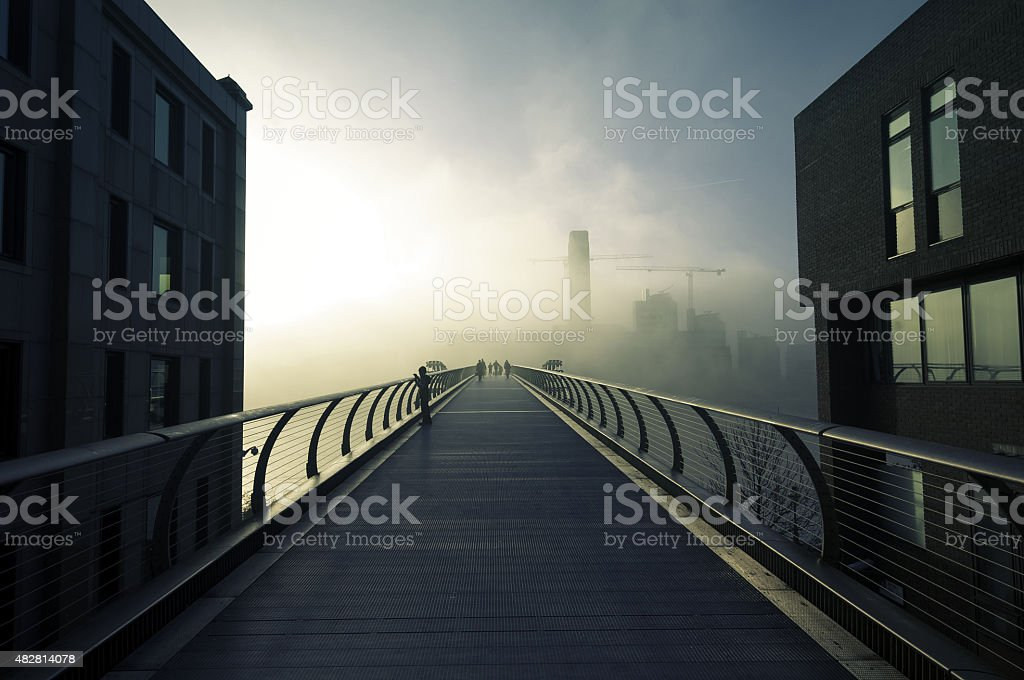 Industrial Wander stock photo
