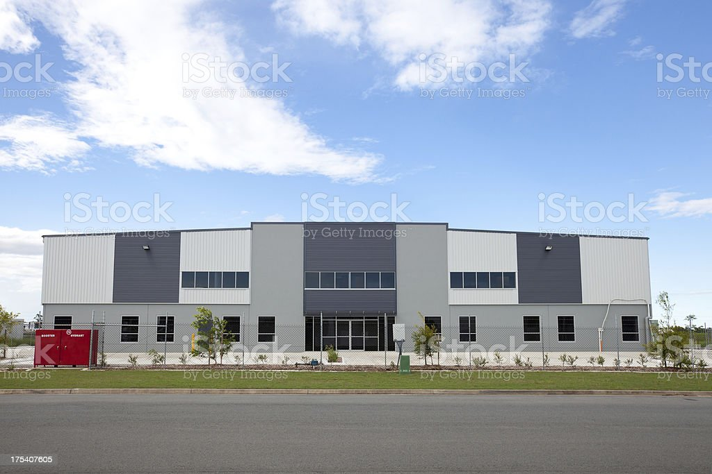 Industrial Warehouse Building royalty-free stock photo