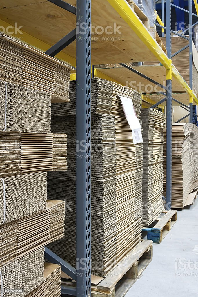 industrial warehouse stock photo