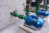 Industrial water pump station