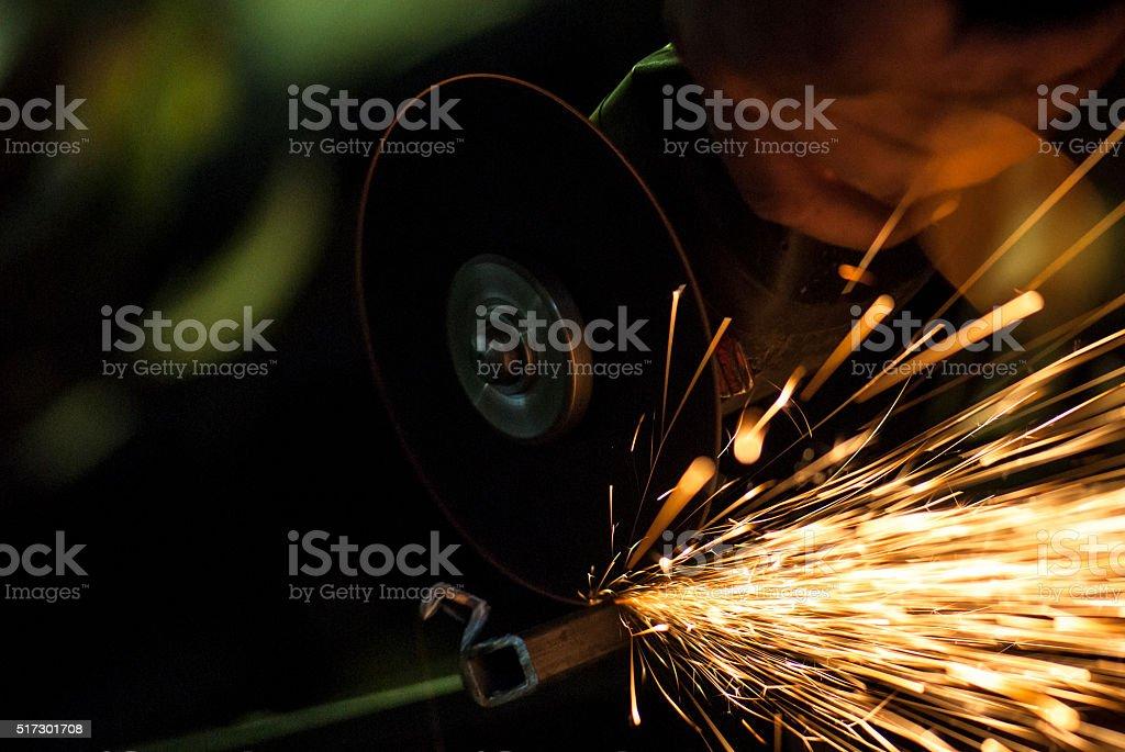 Industrial work stock photo