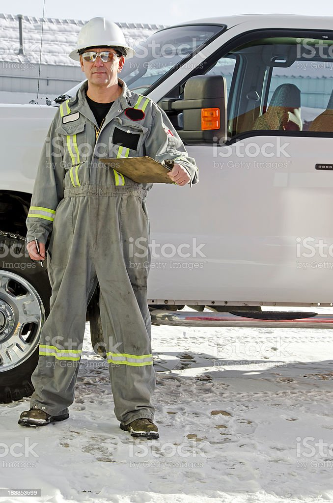 Industrial Worker Series royalty-free stock photo