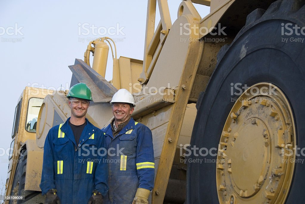 Industrial Workers royalty-free stock photo