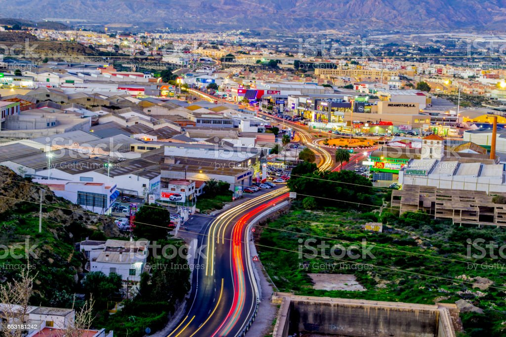 zona industrial stock photo