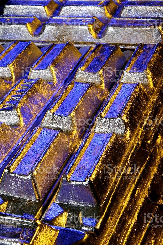 Industrial-Aluminio stock photo