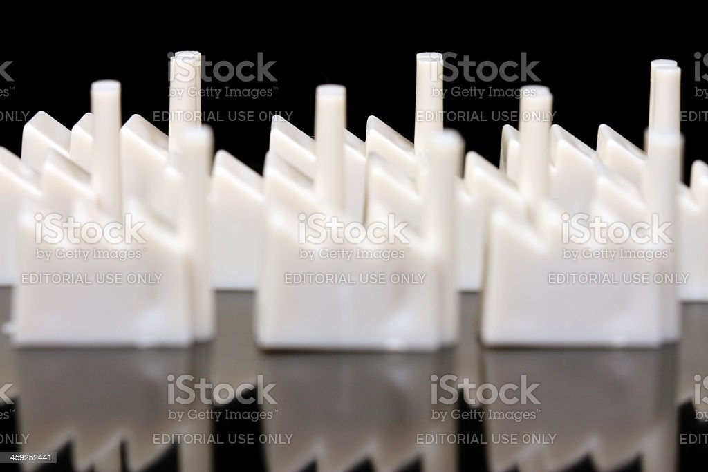 Industrialization stock photo