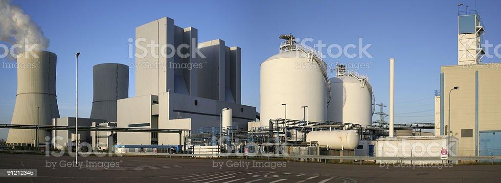 Industrieanlagen royalty-free stock photo