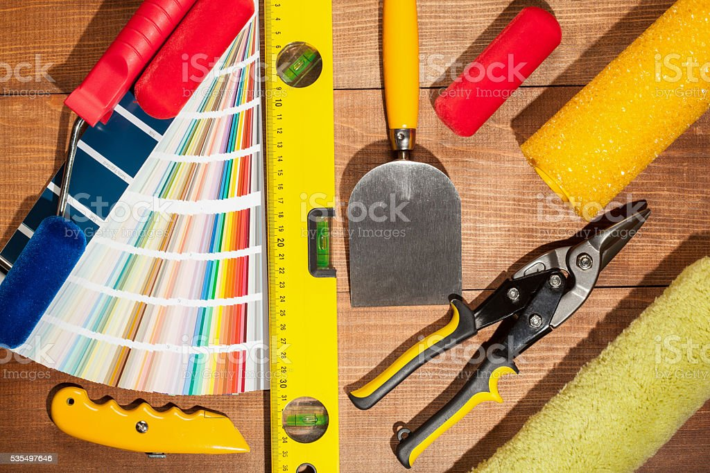 Industriual tools stock photo