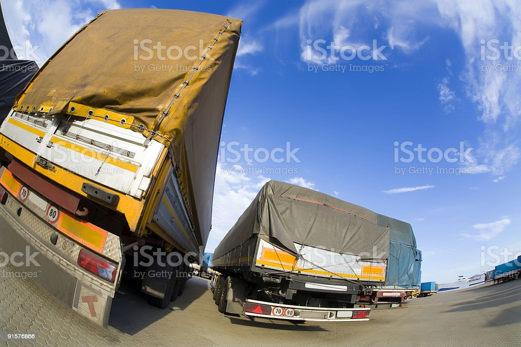 industry and commerce royalty-free stock photo