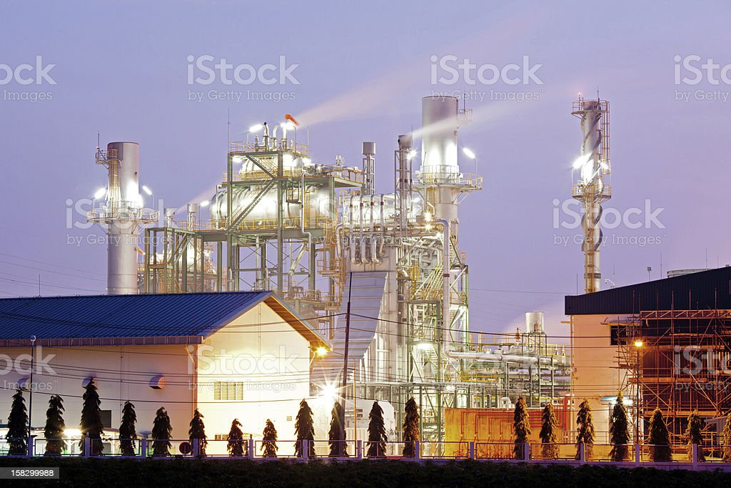 Industry boiler royalty-free stock photo