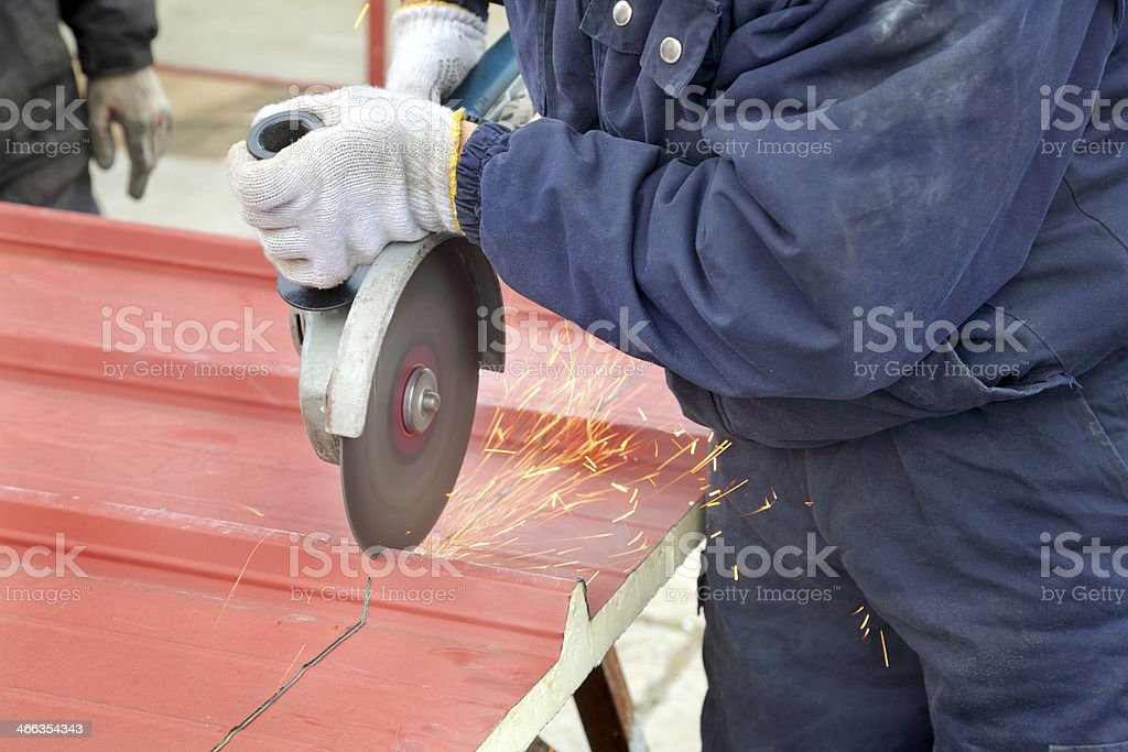 Industry, construction site stock photo