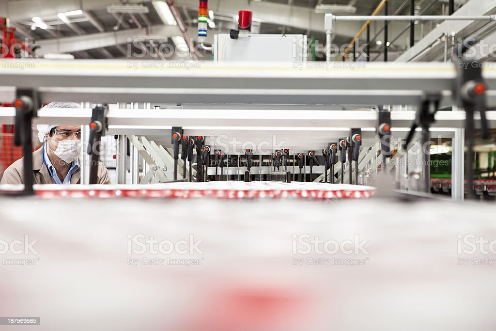Industry Control royalty-free stock photo