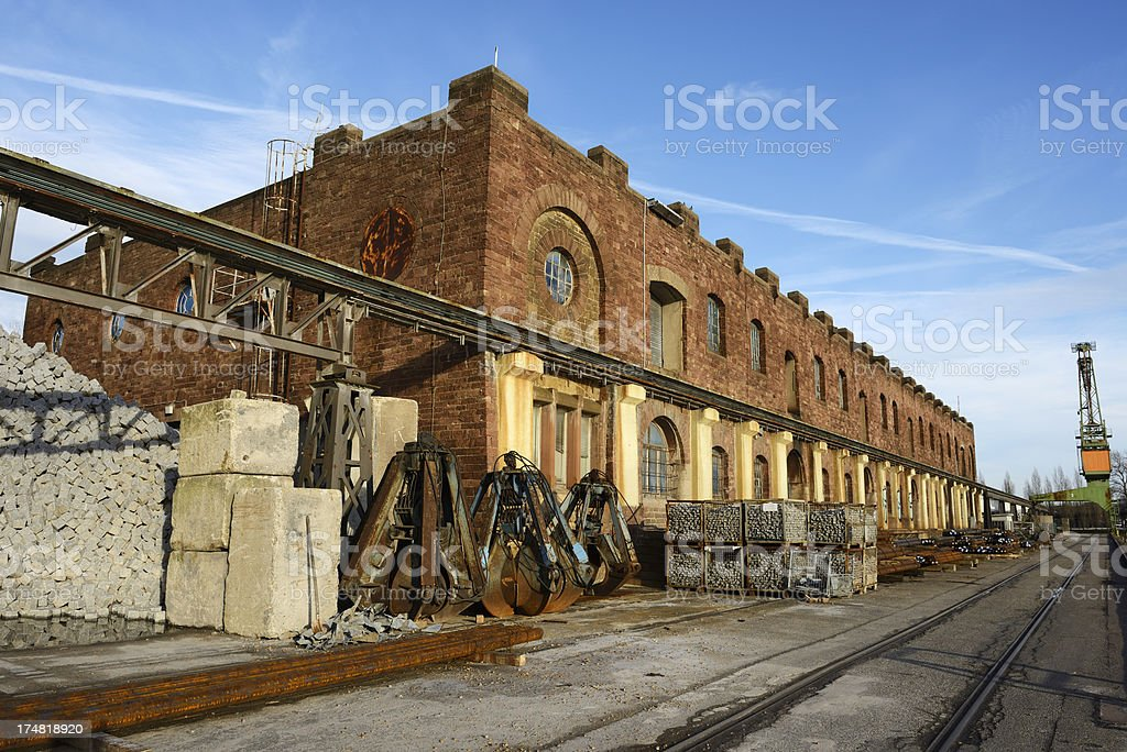 industry district royalty-free stock photo
