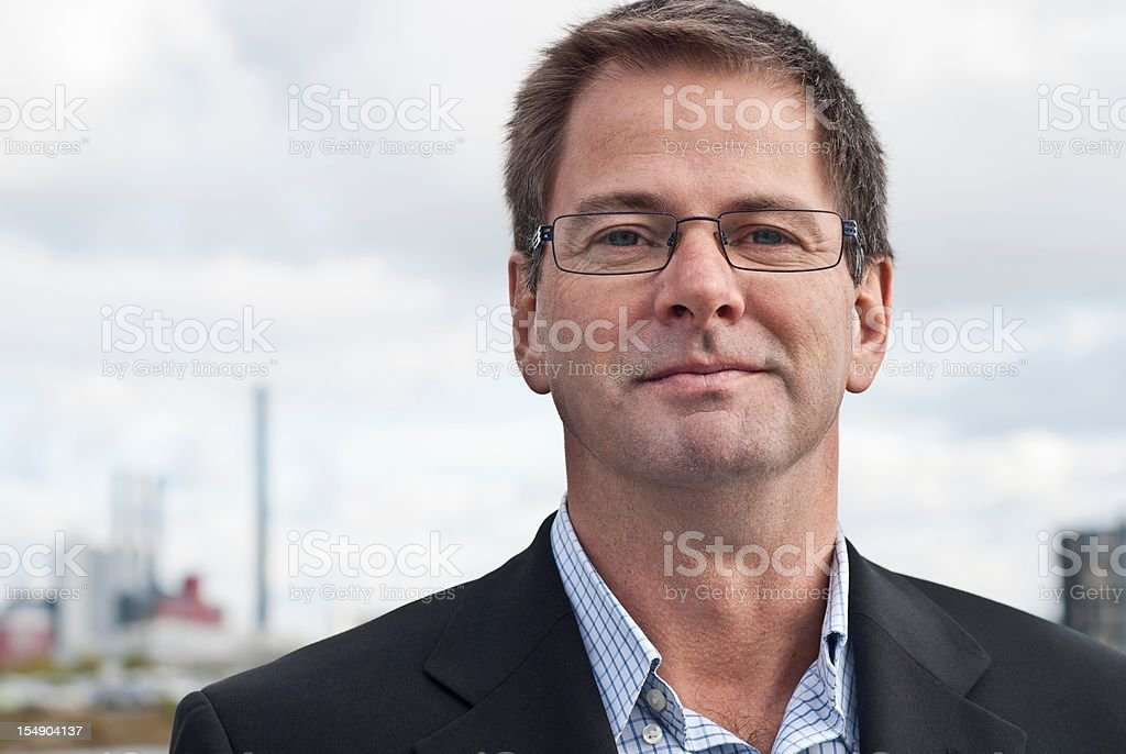 Industry executive stock photo
