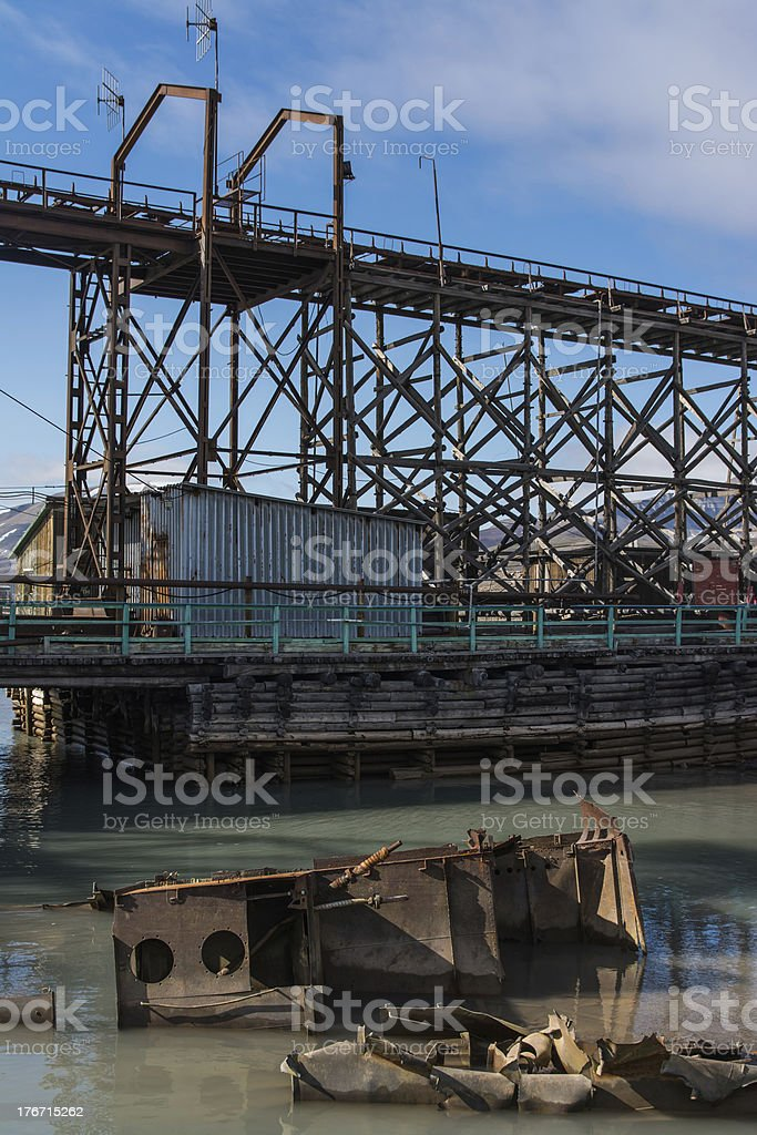 Industry from the past. royalty-free stock photo